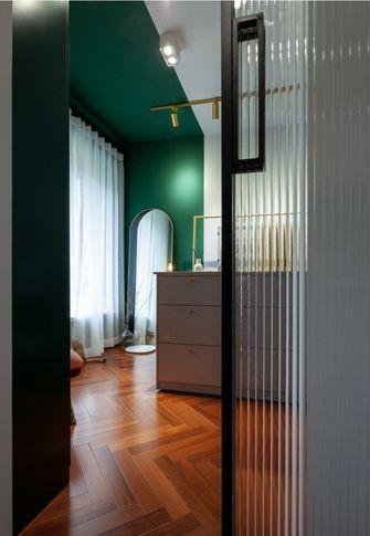 90平米三室一厅混搭风格衣帽间欣赏图