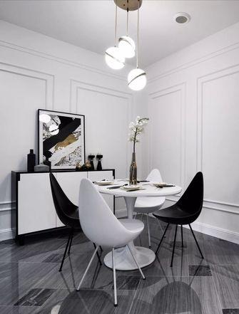豪华型110平米三室一厅混搭风格餐厅装修案例