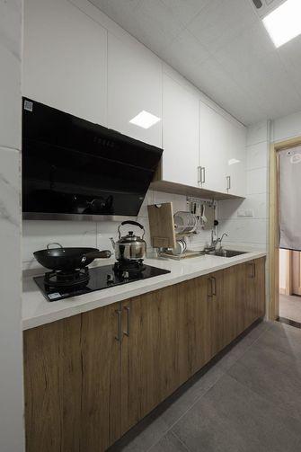110平米三室两厅日式风格厨房图片