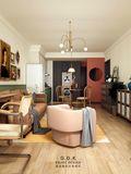 富裕型70平米公寓混搭风格餐厅图片大全