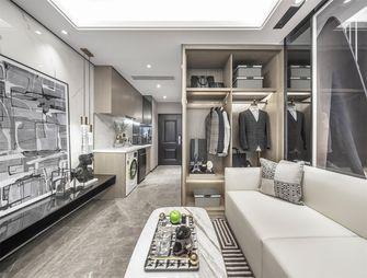 富裕型60平米一室一厅轻奢风格客厅图