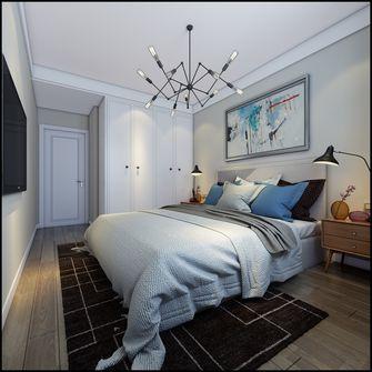 富裕型120平米三室三厅英伦风格卧室图片大全