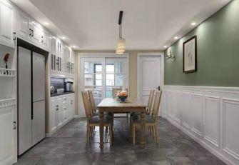 140平米三室两厅美式风格餐厅装修案例