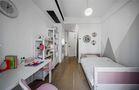 富裕型120平米三室一厅混搭风格书房效果图