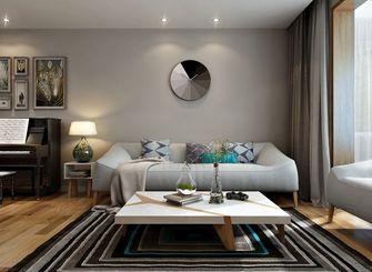 经济型120平米三室三厅混搭风格客厅图