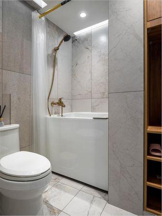 经济型60平米公寓现代简约风格卫生间装修效果图