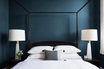 经济型90平米三室一厅地中海风格卧室图