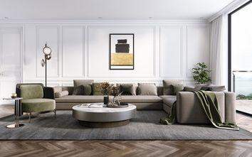 90平米三欧式风格客厅效果图