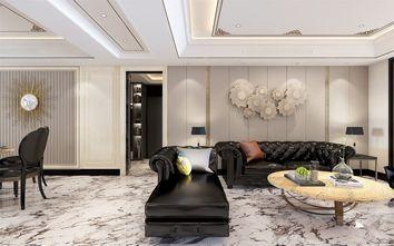 豪华型140平米四室三厅轻奢风格客厅装修案例