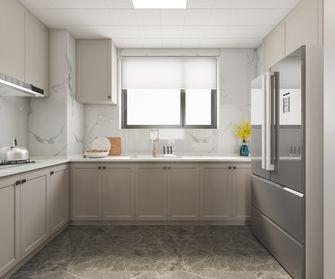 富裕型三室一厅美式风格厨房图片大全