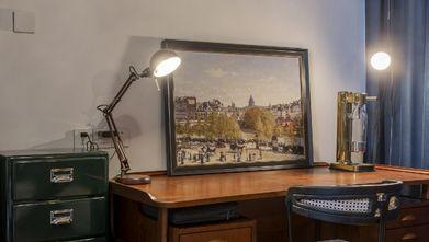 富裕型140平米欧式风格书房装修效果图
