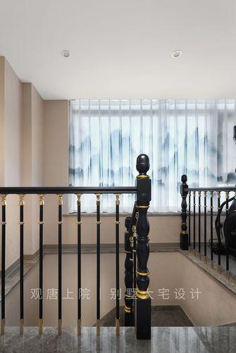 豪华型140平米复式中式风格楼梯间图片大全