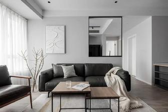 经济型80平米三室一厅工业风风格客厅设计图