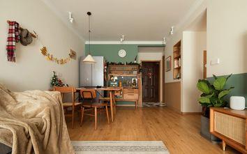 70平米一居室日式风格客厅图