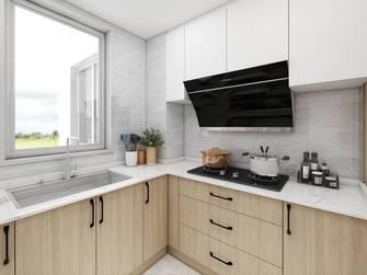 富裕型80平米公寓北欧风格厨房设计图