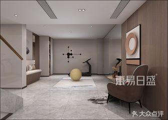 140平米复式现代简约风格健身房效果图