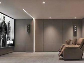 140平米四室一厅现代简约风格影音室装修案例