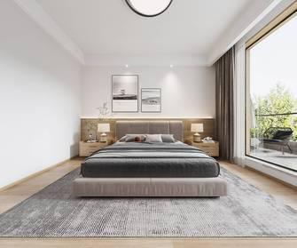 140平米别墅北欧风格卧室装修图片大全