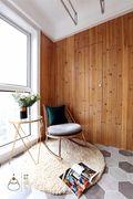 富裕型120平米四室一厅美式风格卧室装修效果图
