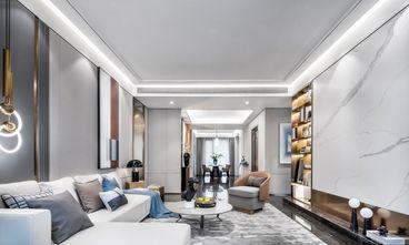 富裕型110平米四室两厅轻奢风格客厅效果图