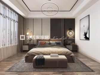 富裕型120平米三室两厅轻奢风格卧室图片