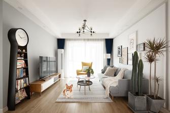 5-10万100平米三室两厅北欧风格客厅设计图