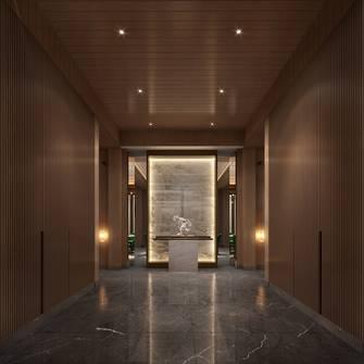 140平米别墅新古典风格玄关装修效果图