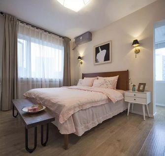 5-10万120平米三室两厅北欧风格卧室图