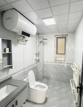 5-10万80平米三室两厅现代简约风格卫生间装修案例