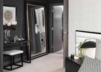经济型60平米公寓美式风格其他区域装修图片大全