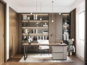 豪华型140平米四室三厅现代简约风格书房图片大全