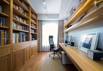 豪华型140平米四室两厅港式风格书房图