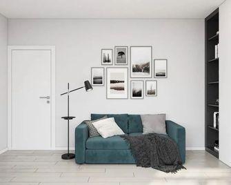 60平米现代简约风格书房图片