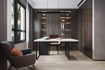 豪华型140平米四室两厅现代简约风格书房效果图