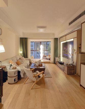 5-10万90平米三室两厅北欧风格客厅欣赏图