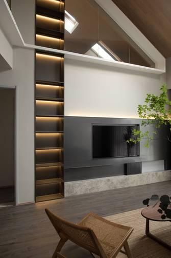 豪华型140平米三室两厅中式风格客厅设计图