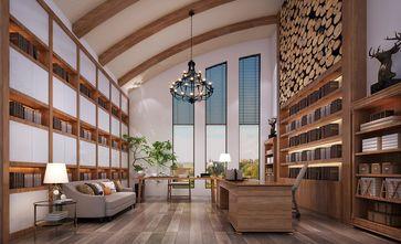 豪华型140平米别墅英伦风格书房欣赏图