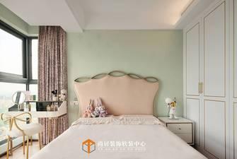 富裕型120平米三室两厅法式风格卧室装修案例
