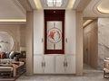 100平米三室两厅中式风格走廊图片大全