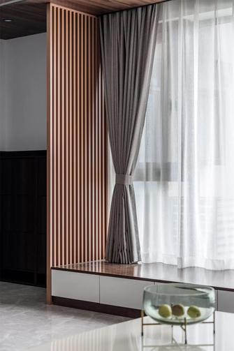富裕型100平米三现代简约风格阳台效果图