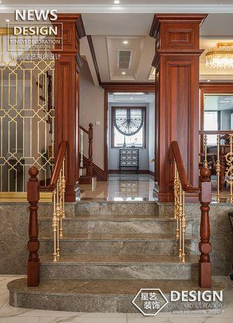 20万以上140平米别墅新古典风格楼梯间装修案例