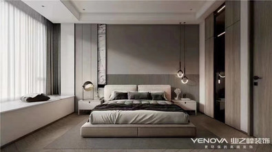 20万以上140平米三室两厅港式风格卧室效果图