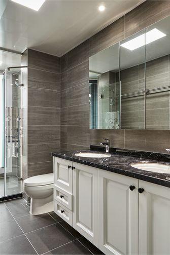 豪华型140平米四室四厅轻奢风格卫生间图