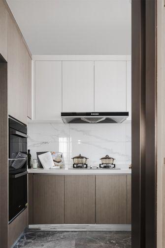 富裕型100平米三室一厅现代简约风格厨房装修案例