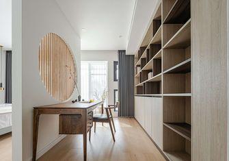 120平米日式风格书房设计图