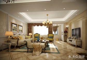 豪华型140平米四室两厅欧式风格客厅效果图