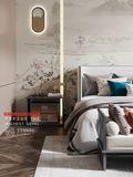 豪华型140平米别墅中式风格卧室图片大全