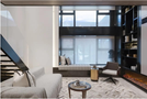 豪华型50平米复式现代简约风格客厅图片大全