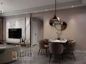 5-10万90平米三室两厅轻奢风格餐厅装修图片大全