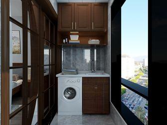 130平米三室两厅中式风格阳台图